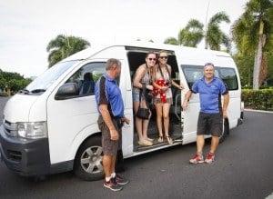 Reef Experience bus transfers
