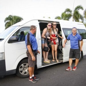 Reef Experience shuttle bus transfers
