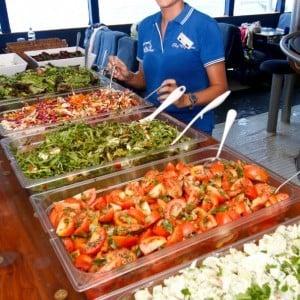 Great Barrier Reef lunch