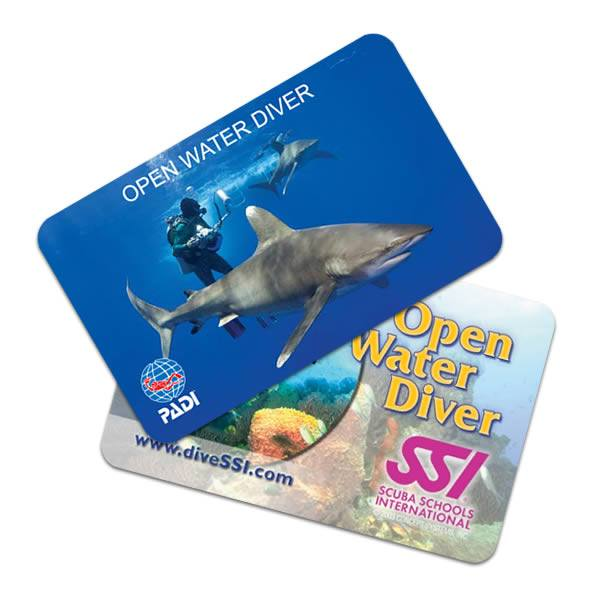 PADI-SSI-dive-cards