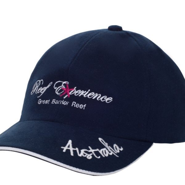 Reef Experience blue cap front