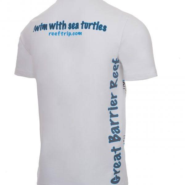 Reef Experience Turtle Tshirt Back