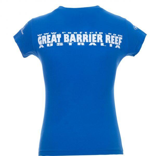 Ladies Great Barrier Reef Tshirt Back